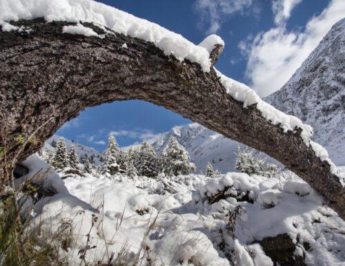 Nevicata in val grande